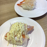 かっぱ寿司 - 母が大好きなサーモンマヨと海老