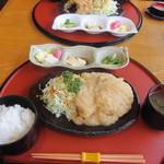 味処 みよし - 和風おろしカツ定食(3枚)