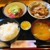 割烹 ゆず - 料理写真:組合せ自由定食・二品(980円)