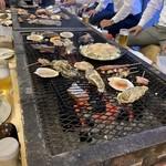 岸壁 炉ばた - 料理写真: