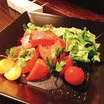 ぼすけ - 四季トマトのサラダ