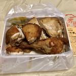 114895766 - 鳥の唐揚げ(小)1200円。いいお値段。