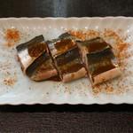 114899166 - 秋刀魚 肝醤油