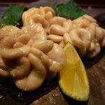 1149373 - ☆昆布焼きの鱈の白子の塩焼きは香りまでご馳走です☆