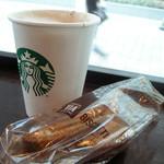 スターバックス・コーヒー - カプチーノ&ビスコッティ