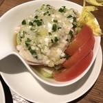 龍の子 - 蒸し鶏のさっぱり葱生姜ソース