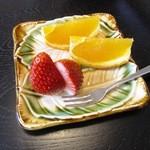 うなぎ 善 - 果物