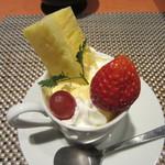 鮓・地魚本舗 一神 - デザート アイス