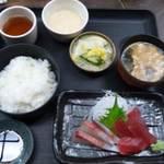 柚 - お造り定食 700円!