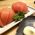 鈴むら - 冷やしトマト410円