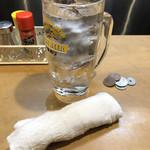 平澤かまぼこ - ドリンク写真:チューハイ