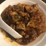 本格四川料理 三鼎 - 痺れる麻婆豆腐
