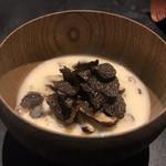 114918187 - 椎茸、バッカス茶碗蒸し