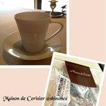 メゾン・ド・スリジェ - コーヒー、お土産のキャラメル