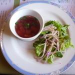 アガノ - サラダとスープ
