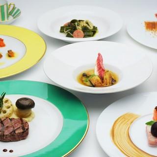 トレ・コローネ - 料理写真:【ディナー】2019年秋のスタジオーネコース