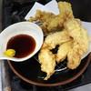 Tenyamarumasa - 料理写真:鶏天5個盛り790円!頼めば頼むほどお得になります!からしポン酢でどうぞ!
