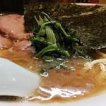 五丁目ハウス - チャーシュー麺¥880+のり¥50+のり¥50 ホリゾンタルアングル