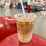 コストコ - ここの「アイスカフェラッテ」は、大きくて安いです!