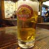 酒楽 - ドリンク写真:生ビール(中)¥600