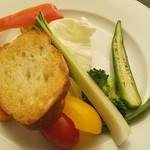 モデスティ - バーニャカウダ野菜