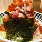 日本橋海鮮丼 つじ半 - ぜいたく丼     松   いくら増し  アップ