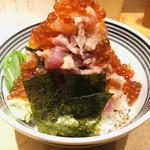 日本橋海鮮丼 つじ半 - ぜいたく丼     松   いくら増し