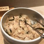 日本橋海鮮丼 つじ半 - ガリ