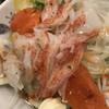回転寿司 たいせい - 料理写真:海鮮サラダ150円。コスパがとてもいいと思います( ◠‿◠ )。とても美味しくいただきました(╹◡╹)