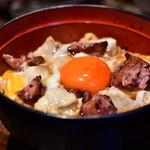 青山 鶏味座 - 究極の親子丼 レバー入り〈雛〉@1,380円