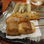 魚粋 - 魚串揚げ!