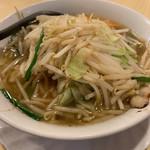 大鷹ラーメン - 料理写真:タンタンメン(770円) 飽きのこないあっさり味
