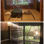柳生の庄 - お部屋と内風呂