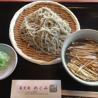 蕎麦蔵めぐみ - 料理写真: