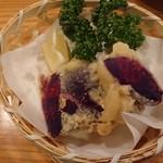 おもろ - 紅芋天ぷら