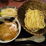 三ツ矢堂製麺 - 野菜たっぷりつけめん