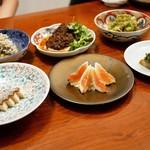 月泉 - ☆前菜6種盛り(^u^)☆
