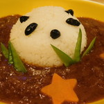 しろくまカフェ - パンダくんカレー(中辛)