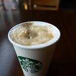 スターバックス・コーヒー - マキアートはうっすらと残ってます