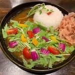 ジパングカリーカフェ 和風カレー ヒゲ ボウズ - サマベジカレー(ミニ)