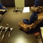 キッチンバー混 - テーブルコーディネイト