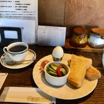 カナディアン コーヒーショップ - モーニングセット600円