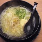がんちゃん - 天然塩バターらーめん 650円