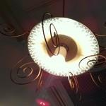 パスタロッソ - お皿でできたライト♪
