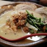 麺場 田所商店 - 信州味噌 味噌漬け炙りチャーシュー麺