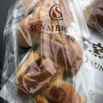 石窯パン工房 サンメリー - ベーコンチーズパン