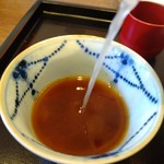 蕎麦 高しま - 自然なタイプのそば湯