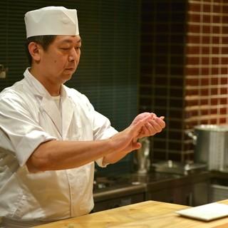 この道30年、素材の味を極限まで引き出す職人…店主「高田」