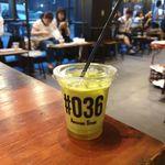 オーサム ストア&カフェ - 今回は「オーサム抹茶ラテ」343円を飲んでみることに。