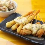 串串 - 食欲そそる自家製タルタルソース